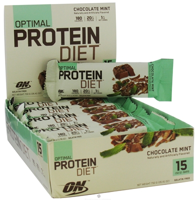 Optimal Protein Diet Bar Review